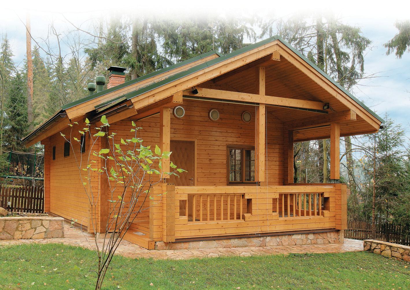 Чем полезна деревянная баня